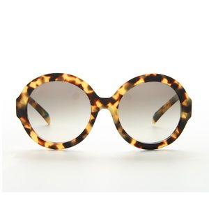 Prada PR06RS Sunglasses (Blond Tort)